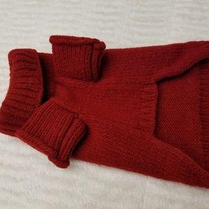 Dog apparel- wool Turtleneck sweater